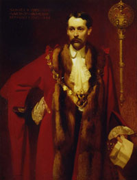 Samuel Ryder in Mayoral Robes