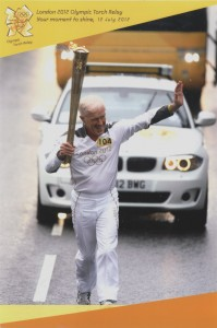 The Author, Olympic Torchbearer